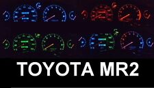 Toyota MR2 Gen 1 W10 and Gen 2 W20 LED speedometer conversion kit