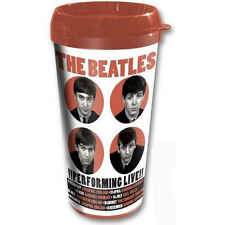The Beatles - 1962 Performing Live Insulated Travel Mug - New & Official In Box