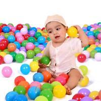 100pcs Soft Plastic Colorful Children Secure Ocean Ball Baby Pits Swim Toy 5.5cm