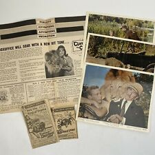 Vintage Press Photos Clippings Pressbook Clarence The Cross-Eyed Lion 1965