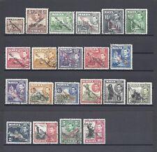 MALTA 1948/53 SG 234/48 USED Cat £35