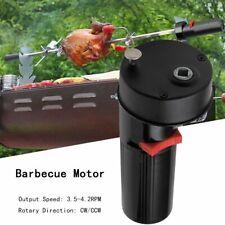 BBQ Rotissoire Moteur Barbecue Broche Tournebroche Battery Motor Rotator Support
