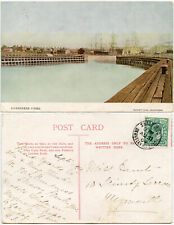 More details for gloucestershire 1904 sharpness piers ppc + postmark berkeley r.s.o...vf