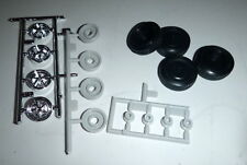 A67FMS 67 SHELBY MUSTANG RALLY WHEELS, TIRES Model Car Mountain 1/25