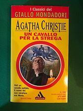 UN CAVALLO PER LA STREGA - Agatha Christie - Mondadori - 1996 Romanzo Giallo