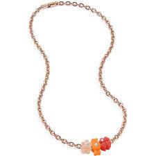 Collana Donna Morellato Colours Pendenti Charm Silicone Clorati con Cristalli