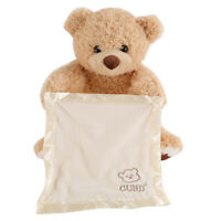 Toy Peek a Boo Teddy Bear Play Hide Seek Lovely Talking and Singing Soft Stuffed