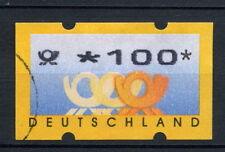 Allemagne 1999 étiquette de machine utilisé 100pF #A 28753