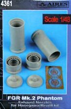 Aires 1/48  FGR.2 Phantom Exhaust Nozzles for Hasegawa kit # 4361/*