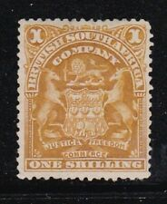 Album Treasures Rhodesia Scott # 66  1sh  Coat of Arms  Mint NG