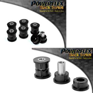 For Subaru Forester SG Powerflex BLACK Rear Lateral Link Bushes PFR69-110/111BLK