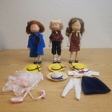 Vintage Eden Madeline Poseable Dolls Lot - Madeline and Friends, Extra Clothing
