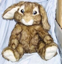 "Build A Bear Hop Brown Plush Bunny Rabbit Easter 12"""