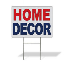 Weatherproof Yard Sign Home D Cor Red Blue Lawn Garden Stores