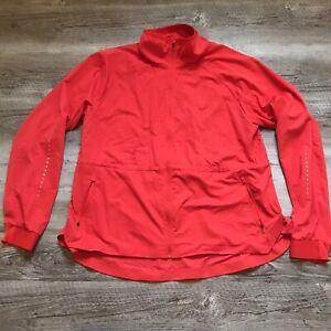 Champion Lightweight Activewear Jacket Coral Women's Size XL