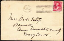 US - MD - 1894 - Scarce DPO - Darnall - Anne Arundel County - Receiving Mark