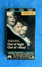 OUT OF SIGHT OUT OF HER MIND VHS 1990 Psychological Thriller Horror Wings Hauser