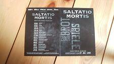 ** Saltatio Mortis ** schöne Karte ** Rar für Fans ** toll als Autogrammkarte