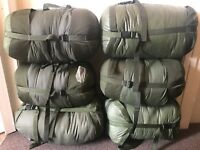 British Army Latest 90 Arctic Issue Sleeping Bag - With Stuff Sack -