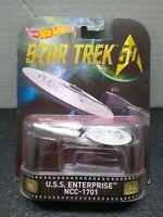 2015 Hot Wheel Entertainment Star Trek USS Enterprise NCC 1701