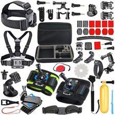 51 in 1 Accessories Kit Essential GoPro Session Hero 7/6/5/4/3/2/1 Bundle Black