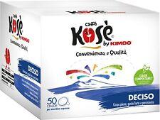 300 CIALDE KOSE' filtro carta ESE 44 MM MISCELA DECISO BLU by KIMBO OFFERTA