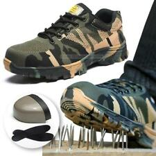 Men's Indestructible BulletProof  Comfort Shoes Steel Toe Safety Work Boots Plus