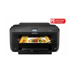 ✅NEW IN BOX⚡️ Epson WorkForce WF-7210 Wireless Color Inkjet Printer ✅Sublimation