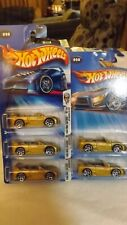 2004 F.E. Hotwheels Variations Lot of Five Mitsubishi Eclipse Different Wheels