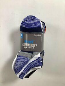 Boys Dolgencorp Multicolor Low Cut Socks Shoe Size 7-3 / 10 pack NEW!