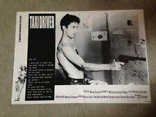 "Taxi Driver 23.5"" x 33"" movie poster - Robert Deniro"