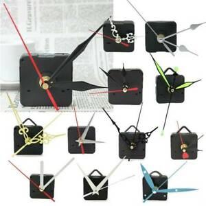 DIY Silent Hand Quartz Clock Silent Movement Mechanism Repair Tools Part Kit AU
