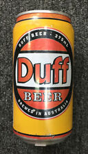 DUFF BEER CAN THE SIMPSONS