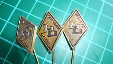 Langenberg 's-Heerenberg Katja salmiak drop stick pin 60s speldje drop 3pcs