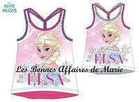 DISNEY - LA REINE DES NEIGES - Débardeur Elsa - Neuf avec étiquette
