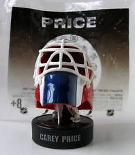 CAREY PRICE - Collectible Goalie Helmet McDonald's-NHL Plastic Figure on Puck
