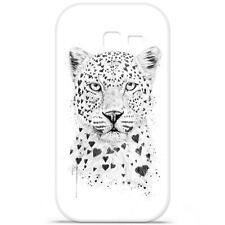 Coque Housse Etui Samsung Galaxy Trend Lite à motif Silicone Gel - B.S(Leopard)