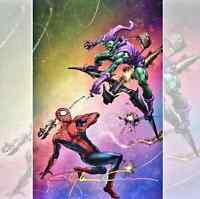 Amazing Spiderman 49 Crain Rainbow Variant NYCC 2020 Exclusive! SIGNED, COA