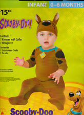 Rubie's Scooby-Doo Halloween Costume - Infant 0-6 MOS New Complete Romper & Hat