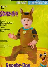 Rubie's Scooby-Doo Halloween Costume - Infant 0-6 MOS New Complete Romper & Hat