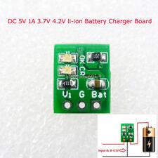 DD08CRMB mini DC 5V 1A 3.7V 4.2V li-ion Battery Charger Board Module 18650 Solar