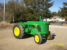 John Deere AR Antique Tractor NO RESERVE farmall oliver allis case a b g h d m r