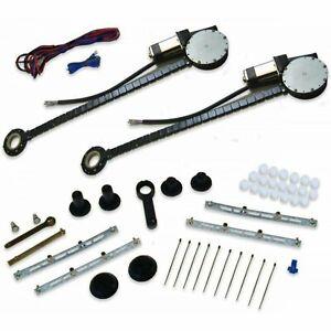 1971-80 Volkswagen Power Window Kit Door Parts Roll Up Heavy Duty NO SWITCHES