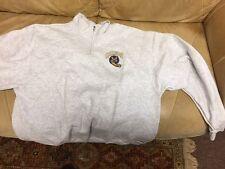 """Brand New """"Quinnipiac Bobcats """" Pullover fleece 1/4 zip SIZE XLG- SPORT-TEK- 72A"""