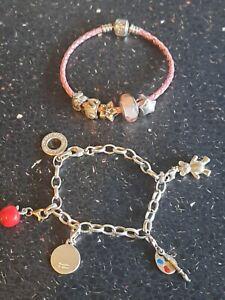 Pandora Thomas Sabo Joblot bracelets & charms ts,pandora,925, chamilia