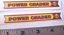 Marx Power grader water slide decal set