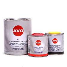 AVO 2K HS 4:1 Grundier Füller grau 1,5 Liter Set A020210S