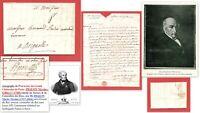 """Lettre 1750 à Famille BREMOND: le fils, personnage lié à """"NAUNDORFF""""..Louis XVII"""