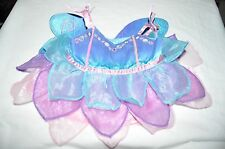 Build a Bear Blue/Purple/Pink Dress with Flowers and Wings