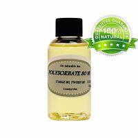 Premium Polysorbate 80 T MAZ 80 TWEEN 80 Pure Cosmetic Purposes